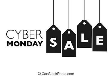 cyber, セール, 月曜日
