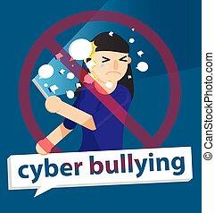 cyber bullying girl