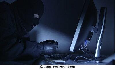 Cyber crime credit card fraud