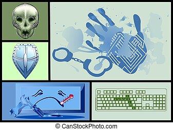 cyber crime set