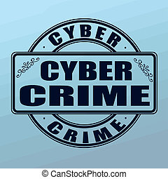 cyber crime stamp