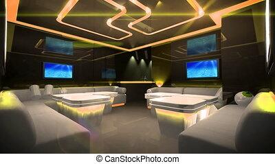 Cyber led light of Club Room