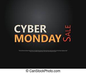 cyber, lundi, vente