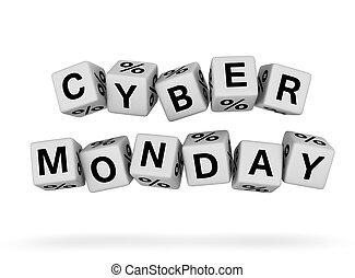 cyber, maandag