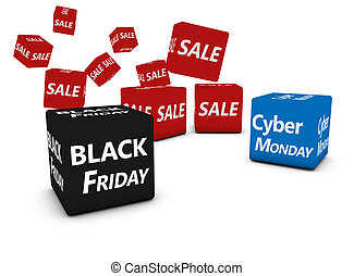 Cyber Monday And Black Friday Sales - Cyber Monday and black...