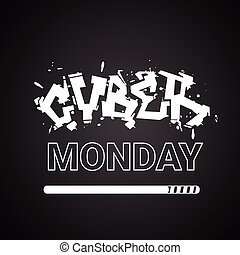 Cyber Monday Banner Holiday Sale Poster Design