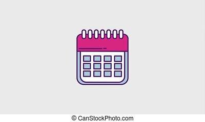 cyber monday concept - calendar planning reminder cyber...