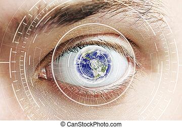 cyber, occhio