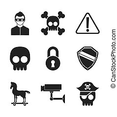 cyber security design, vector illustration eps10 graphic