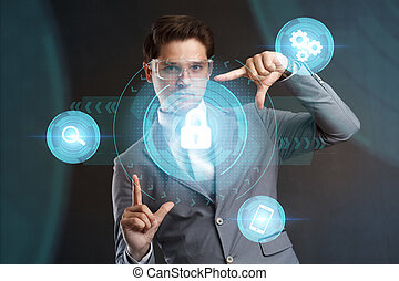 Cyber Security Data Protection Business Technology Privacy conce
