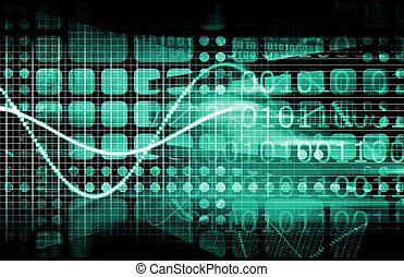 Cyber Security Internet Concept as a Background