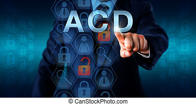 Cyber Security Manager Pressing ACD
