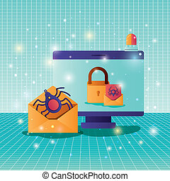 cyber security with computer