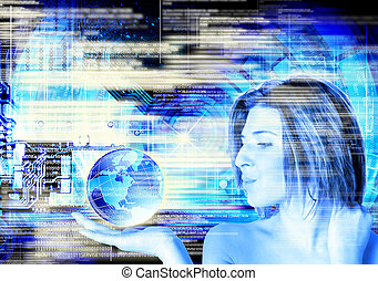 Cyber technology. People future