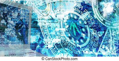 cyber, tecnologia internet