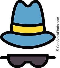cyber vector colour line icon