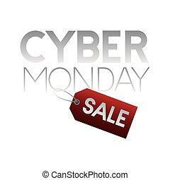 cyber, vendita, lunedì