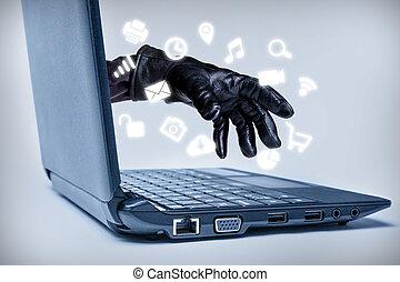 Cybercrime Concept