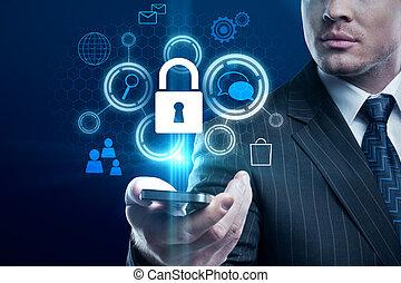 cyberespace, concept