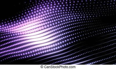 cyberespace, particule, résumé, couler, vague, mouvement, engendré, informatique, conception, numérique, particules, toile de fond