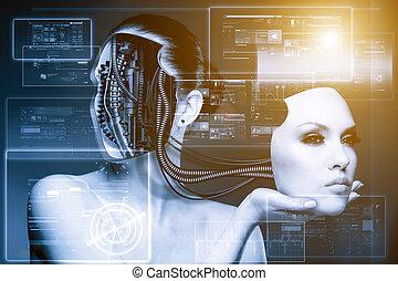 cyberfashion., résumé, techno, arrière-plans
