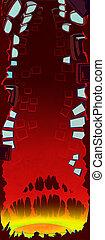 Cybernetic revolt concept