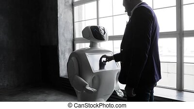 Cybernetic system today. Modern Robotic Technologies....