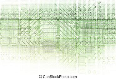 Cybernetics Mechanical Design as a Blueprints Art