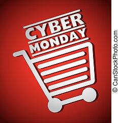 cybernetiska, måndag, handlar