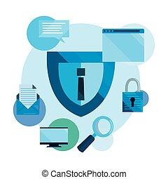 cybersecurity, proteção, dados