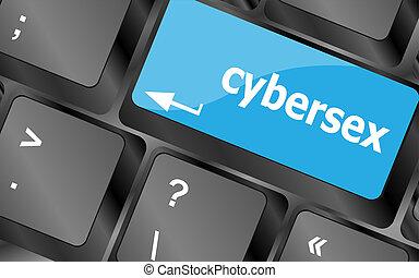 cybersex, leitura, tecla, teclado