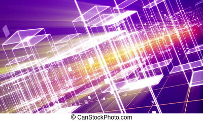 """""""Cyberspace City with Crystal Buildings"""" - """"A wonderful 3d..."""