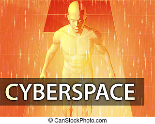 cyberspace, illustratie