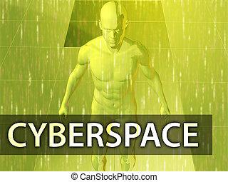 Cyberspace illustration