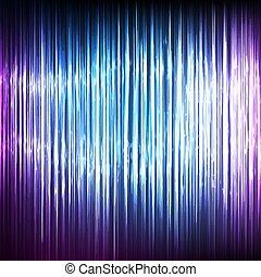 cyberspace, wektor, kropka, chaotyczny, lekki, abstrakcyjny, cyber, machać, tło., chmura, oczko, array., techniczny, waves.