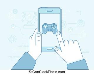 cybersport, i, hazard, online, pojęcie