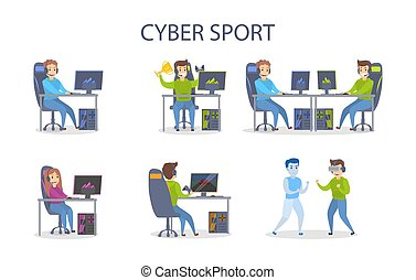 cybersport, set., jouer
