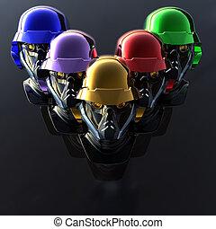 cyborg head