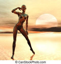 cyborg, weibliche