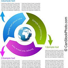 Cycle diagram design