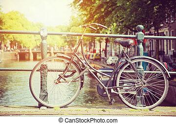 Cycle in sun