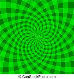 Cyclic optical illusion