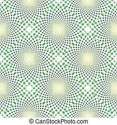 cyclic, optyczne złudzenie, (vector)