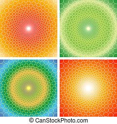 cyclic, optyczny, illusion-vector, eps