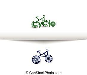 Cycling and Biking Logo - Cycling and Biking Web Icons and...