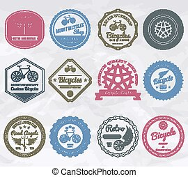 Cycling Emblems Stamps