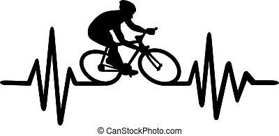 Cycling heartbeat pulse