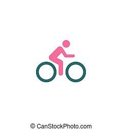 Cycling Icon Vector