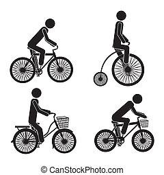 cycling, iconen