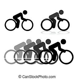 Cycling icons